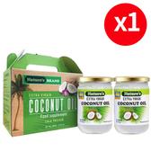 【樂品食尚】Nature's娜萃斯冷壓初榨椰子油禮盒1組(共2瓶·每瓶500ml)