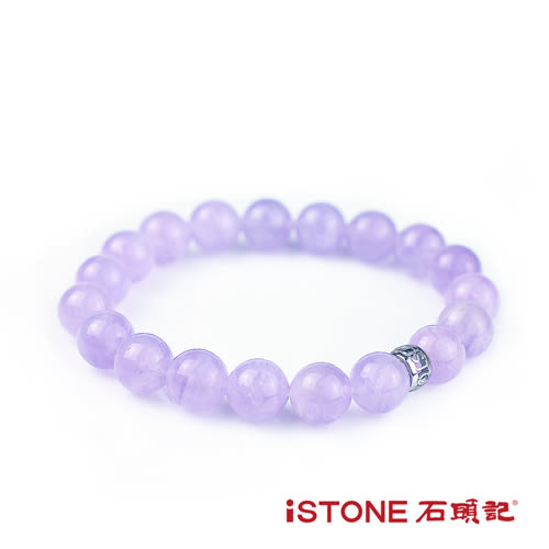 紫玉手鍊-10mm轉運珠 石頭記