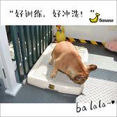 寵物狗廁所平板尿尿盤便便盆法斗柯基泰迪大中小型犬幼犬成犬用品 WD 薔薇時尚