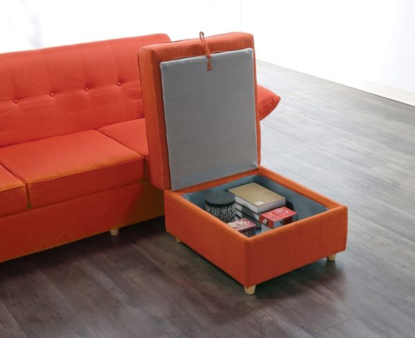 沙發 L型布沙發 QW-538-2 黛安娜L型布沙發 (可左右擺放) 【大眾家居舘】