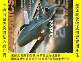 二手書博民逛書店Avionics罕見Magazine 2006 01 航空電子學術專業期刊Y14610
