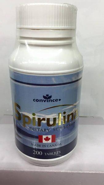 康心螺旋藻 (藍藻)錠片 200粒裝(瓶)*6瓶