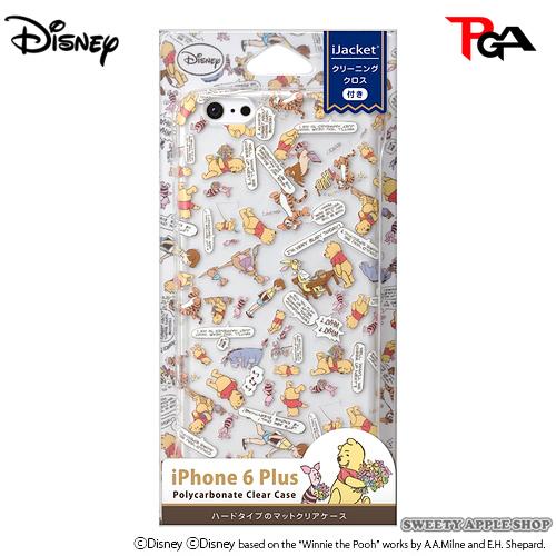 日本限定 iJacket x DISNEY 迪士尼 小熊維尼家族 美式漫畫風 iphone6 Plus / 6s Plus 5.5inch 手機保護殼套