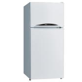 1級節能★三洋128公升雙門冰箱SR-C128B1★無霜