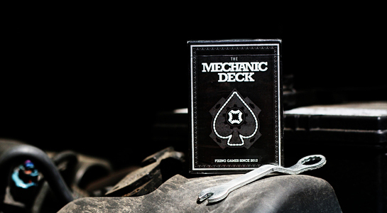 【USPCC 撲克】Mechanic Deck Playing cards 撲克牌 黑色