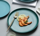 西餐盤 ins盤子北歐西餐盤牛排盤家用 創意菜盤早餐平盤套裝陶瓷網紅餐具【快速出貨八折下殺】