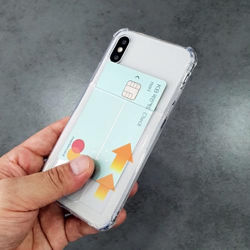 外部卡夾 四角氣墊 手機殼│空壓殼│軟殼│iPhone 7 8 Plus SE 2020 X XS MAX XR 11 PRO 12 MINI│z7457