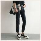 ✦Styleon✦正韓。高腰素面顯瘦直筒皮長褲。韓國連線。韓國空運。1010。