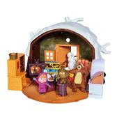 瑪莎與熊 遊戲組 熊熊冬季的家
