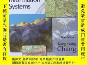 二手書博民逛書店英文原版書罕見Introduction to Geographi