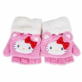 Sanrio HELLO KITTY台灣製兩用保暖針織兒童手套★funbox★ _846244N