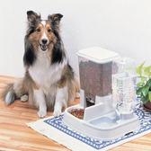 愛麗思自動喂食器狗糧喂狗器寵物貓糧定時投食機投食器貓咪食盆 春生雜貨