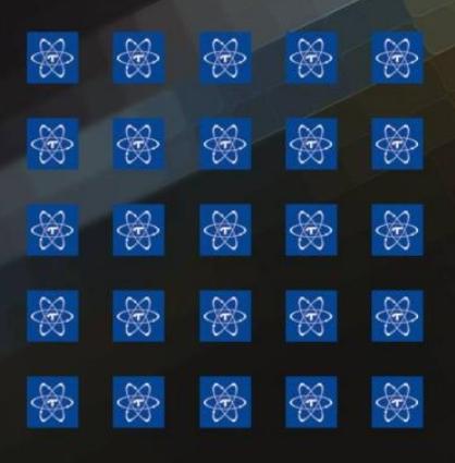 《名展影音》Telos Quantum Sticker 方形6mm 調音貼紙 (一盒20張) 藍色