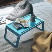用床上用筆記本支架多功能電腦桌可摺疊學生宿舍懶人桌平板架  ATF 極有家