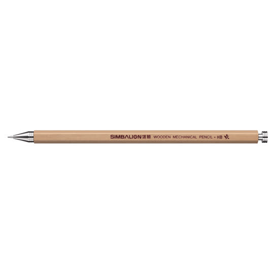 【雄獅】原木自動鉛筆