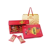 惠香 臺灣造型關廟土鳳梨酥禮盒350g(10入)附提袋【小三美日】