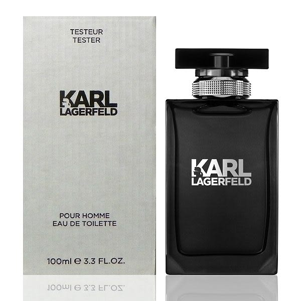 Karl Lagerfeld 卡爾同名時尚男性淡香水100ml Tester 包裝