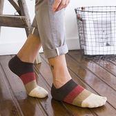 襪子 純棉襪子男 薄款短襪 防臭低筒淺口潮流男人襪 韓版條紋船襪 米蘭街頭