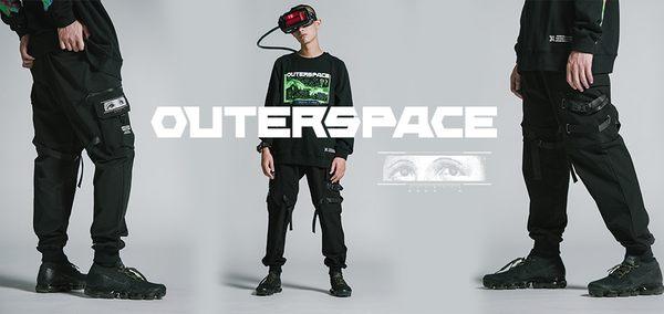 OUTER SPACE 厄洛斯之眼機能工裝褲