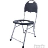 移動馬桶 坐便椅老人坐便器孕婦防滑廁所凳移動馬桶家用蹲便器可折疊坐便凳YYJ 雙十二免運