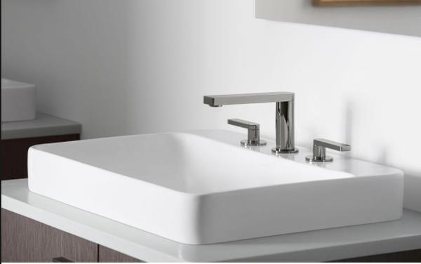 【麗室衛浴】美國KOHLER Composed系列  三孔面盆龍頭  K-73060T-4-CP