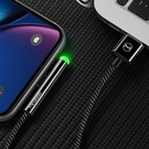 Mcdodo 麥多多 彎頭 iPhone/Lightning充電線傳輸線編織線 LED 2A快充 一級棒系列 180cm