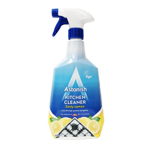 英國 Astonish 廚房專用 去汙除油清潔劑 / 檸檬款 750ml (Kitchen Cleaner)