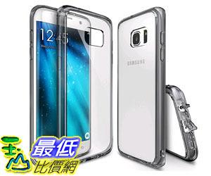 [105美國直購] 手機保護殼 Galaxy S7 Edge Case Crystal Clear PC Back TPU Bumper Drop Protection Shock Absorption RFSGXS7ESB