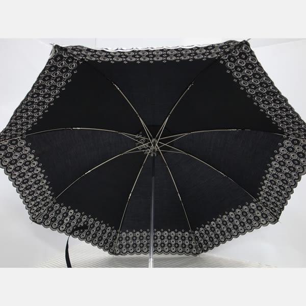 *Mita*抗UV晴雨兼用刺繡傘 寶塔傘 二折傘 菱格款 MB-0001M
