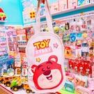 正版 迪士尼 玩具總動員 Q版熊抱哥 帆布手提袋 飲料提袋 收納袋 購物袋 COCOS DK280