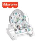 Fisher-Price 費雪 可折疊兩用震動安撫躺椅-幾何[衛立兒生活館]