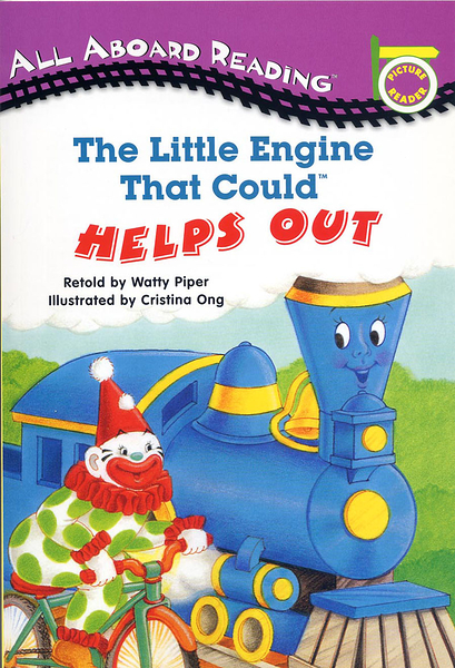 All Aboard Reading系列:THE LITTLE ENGINE THAT COULD HELPS OUT