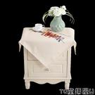 秒殺價桌巾北歐簡約短絨餐桌布正方形圓形桌布方桌茶幾小臺布方巾床頭櫃蓋布 LX童趣屋