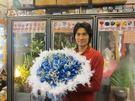 情意花坊超級商城網路花店永和花店~99朵深情藍玫瑰花束只要2999元全台皆配送