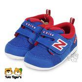 New Balance 藍紅色 魔鬼氈 學步鞋/小童鞋 NO.R3290