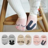 襪子 寶寶 純棉 不對稱 老鼠 兔子 動物 船襪 BW