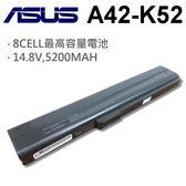 ASUS 8芯 日系電芯 A42-K52 電池  PRO5IN PRO5K PRO5KF PRO5KJC PRO5KJ