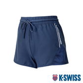 【超取】K-SWISS PF Woven Short W/Mesh運動短褲-女-藍