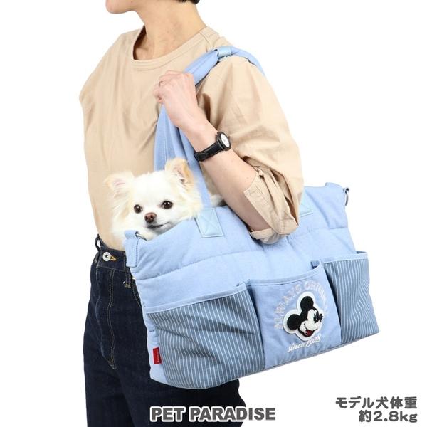 【PET PARADISE 寵物精品】DISNRY 米奇滿版3WAY單肩外出包【小1.5~4kg】 寵物外出包