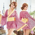 角色扮演 漾彩迷情日系和服角色扮演服三件組   OS小舖