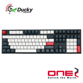 Ducky One 2 燕尾服 Tuxedo PBT 二色成型 Cherry 機械式鍵盤 靜音紅軸 銀軸 DKON1808