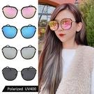 偏光太陽眼鏡 明星款 韓版偏光墨鏡 時尚水銀鏡面 高品質太陽眼鏡 抗紫外線UV400