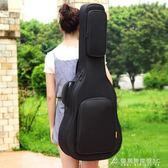 吉他包ruiz魯伊斯加厚加棉民謠木吉他包雙肩琴包防水背包 酷斯特數位3c YXS