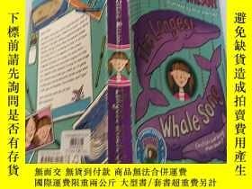 二手書博民逛書店英文原版罕見The Longest Whale Song:最長的鯨魚之歌Y200392