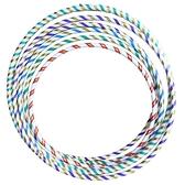 呼啦圈 6號雷射晶晶彩虹呼拉圈 (小彩帶)/一個入(促100) 直徑71cm 台灣製造-4710894914579