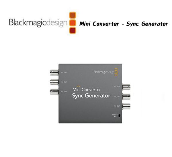 【EC數位】Blackmagic 黑魔法 Mini Converter Sync Generator 迷你轉換器