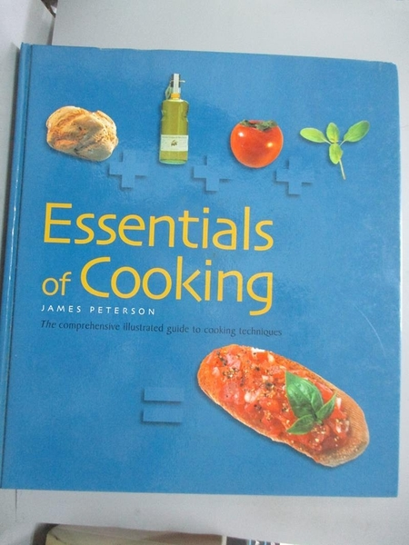 【書寶二手書T3/餐飲_QHP】Essentials of Cooking (Cookery)_James Peters