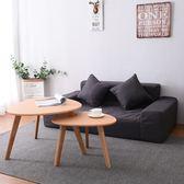 懶人沙發 單雙人臥室小戶型日式簡易沙發床小沙發客廳布藝榻榻米WY