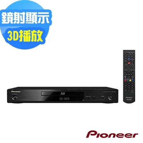 Pioneer先鋒 3D 藍光播放機 BDP-180(內附HDMI線)中文介面、可改全區(免運費保固一年)