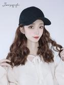 假髮帽假發帽子一體女短發韓版潮網紅款鴨舌帽ins時尚棒球帽夏季太陽帽